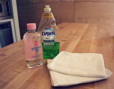 Clean stainless steel without using special cleaners.  (Dawn, all by itself, also effectively cleans my glass top stove.  Just a few drops on a dishcloth.)