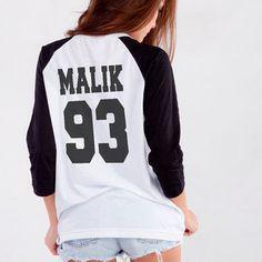 One Direction Zayn Malik 1D TShirt for Teen Girl Blogger Tumblr Instagram Clothing Fashion Merch Shirt Birthday Girlfriends Christmas Gifts