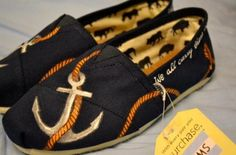 Cutest things ever! <3 Just a little obsessed with anchors and the nautical themes. :)