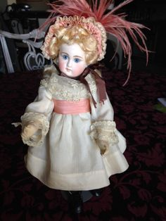 Exquisite Antique French Belton Doll by sdbees1030 on Etsy https://www.etsy.com/listing/234549991/exquisite-antique-french-belton-doll