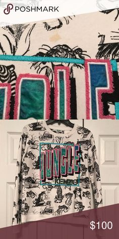 2a61f6d81dc Kenzo Jungle sweatshirt Kenzo x Disney Junglebook sweatshirt Used Some  stains (will have dry cleaned