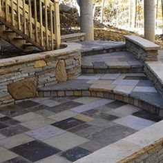 Custom Cut Stone Wal