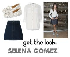 """Get the look: Selena Gomez"" by byania ❤ liked on Polyvore featuring Louis Vuitton, Givenchy, MICHAEL Michael Kors and Dorothy Perkins"