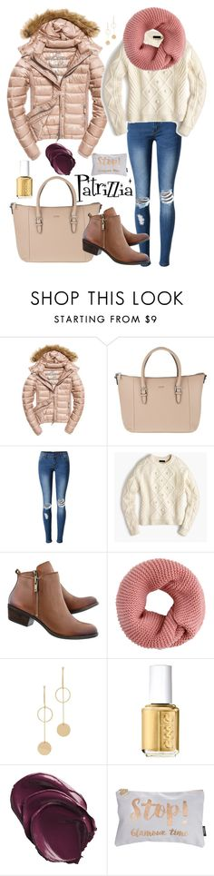 Patrizzia17.12.2016a by patrizzia on Polyvore featuring moda, J.Crew, Fuji, WithChic, Joop!, Cloverpost and Essie