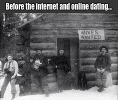 Bevor the Internet and Online Dating...