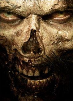 Comic-Con Trailer: The Walking Dead: Season 5 Gothic Horror, Arte Horror, Horror Art, The Walking Dead 3, Walking Dead Season, Photomontage, Zombies, Zombie Face, Zombie Head