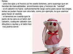 Muñecos Country: Conejo Calcetin