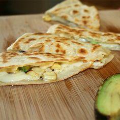 Quesadillas with Mexican Corn