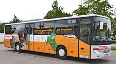 Buswerbung in Sachen Unesco Welterbe für Regierungspräsidium Stuttgart