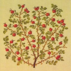 Gallery.ru / Фото #25 - Flowers and Berries in Cross Stitch - Mosca