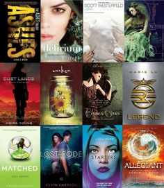 11 Dystopian YA book series to cure your post-'Allegiant' hangover - I have read most of these! I HEART dystopian, post apocalyptic novels! Ya Books, I Love Books, Good Books, Books To Read, Book Suggestions, Book Recommendations, Books For Teens, Suzanne Collins, Book Fandoms