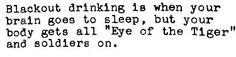 John Mulaney - Blackout Drinking