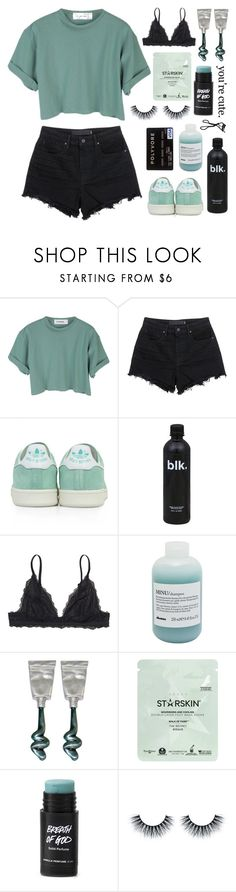 """""""let the music lift you up like you've never been so high"""" by happinesspeaceandlove ❤ liked on Polyvore featuring StyleNanda, Alexander Wang, adidas, Monki, Davines, Starskin, Chanel, polyvoreeditorial and AllysFavourites"""