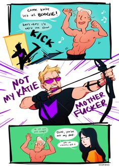 Clint Barton (Hawkeye) || How did you even get here we're like, in space