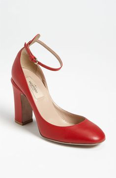 Of course the one I want is from Valentino!    Valentino 'Tan-go' Pump available at #Nordstrom