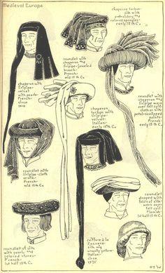 Chaperon en Caproen in de Tarot - Tarot Stap voor Stap De Page Pentakels draagt een Chaperon en de jongeman op Kelken 6 een Caproen.