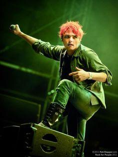 Gerard way live danger days era