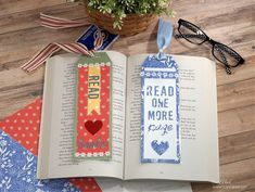 Creating Bookmarks using the New Bookmark Die from The Maker's Movement #bookmarks #booklovers #papercrafting Bookmarks For Books, Creative Workshop, Decoration, Book Lovers, Good Books, Diy, Paper Crafts, Stamp, Projects