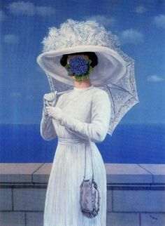 """""""The Great War."""" Rene Magritte."""
