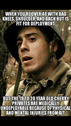 There is so much truth to this yup Military Jokes, Army Humor, Military Life, Military Motivation, Army Infantry, Hard Truth, American Soldiers, Twisted Humor, Troops