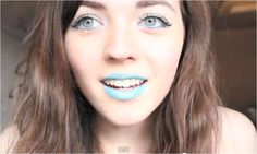 The gorgeous Lily Harper wearing 'Wakin' the Dead' lipstick from #Flashmob!