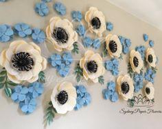 Items similar to SECRET GARDEN paper flower wall /backdrop /Christening / Wedding backdrop / Baby shower/Bridal shower/Sweet table/ Desert table/ Kitchen tea on Etsy