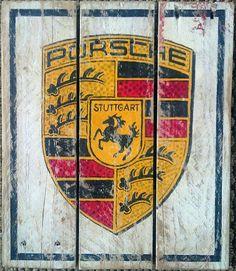 Vintage Porsche logo