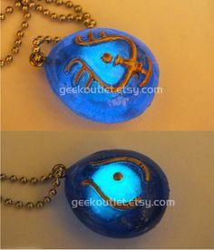 Glow In The Dark Castle in the Sky, Laputa Necklace! Geek Necklace, Studio Ghibli, Love it! Etsy 22.00 <3 <3 <3