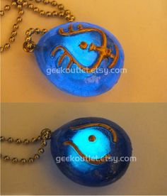Glow In The Dark Castle in the Sky, Laputa Necklace! Geek Necklace, Studio Ghibli, Love it! Etsy 22.00