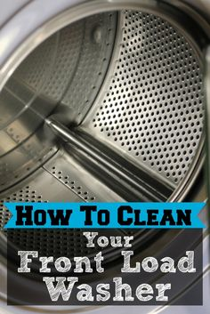 When I got my front load washing machine I was excited. I'm one of those people who loves to have the latest and greatest new thing. But my excitement so turned to frustration. For the life of me a...