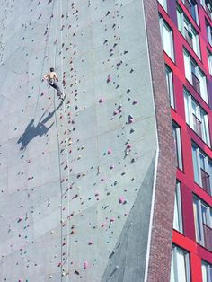 Awesome wall on a dorm building at the University of Twente in the Netherlands.