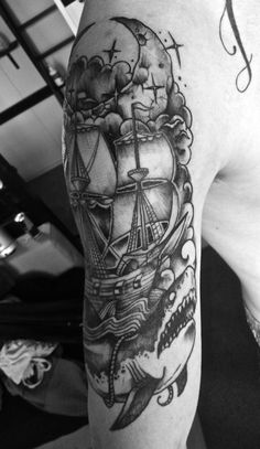 shark tattoo | Tumblr