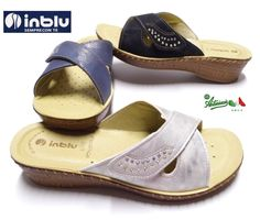 INBLU ciabatte pantofole aperte donna SOFT anatomiche strappo incrocio  SALAMANCA e8403ae6780
