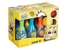 Bebolly Kids ~ Dede Oyuncak Süngerbob Bowling Set