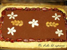 Mazurek kajmakowo - kakaowy