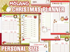 Get organized this holiday season with this funny and joyful printable planner…