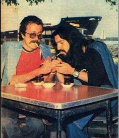 İki güzel insan.. Barış Manço ve Cem Karaca