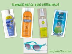 Summer Beach Bag Essentials   Savvy Sassy Moms