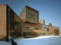 Lohja Main Library, Finland