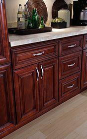 B. Jorgsen & Co. St. James Mahogany Kitchen Cabinets