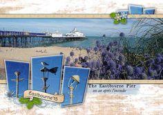 Eastbourne pier - Album de pages de scrap. - Galerie Scrapbooking