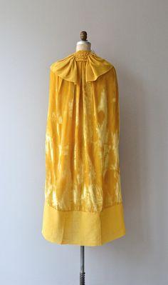 Vestal Light silk cape 1920s silk velvet cape by DearGolden