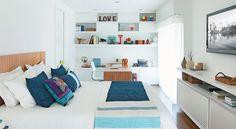 Querida G.A.: Quarto pequeno com cama de casal