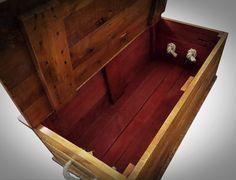 Medium Trunk/Chest Handmade using Pallet Wood by PalletBrighton