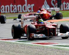 Felipe Massa (BRA) Ferrari F2012. Formula One World Championship, Rd 13, Italian Grand Prix, Race, Monza, Italy, Sunday, 9 September 2012