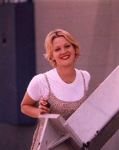 Drew Barrymore Mad Love (remember t-shirts under floral sundresses!)