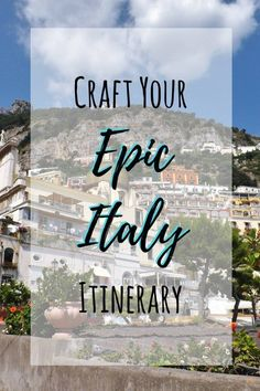 Learn how to plan an epic trip to Italy | Things to do in Rome | Things to do in Florence | Things to do in Venice | Things to do in Naples | Things to do in Milan | Things to do on the Amalfi Coast | How to get around Italy | Budget for vacation in Italy #howtolearnitalian