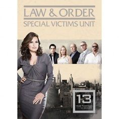 Law & Order: SVU!! I love this show like so much!