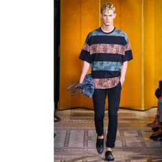The Spring 2014 Menswear Trend Report(color blocked)