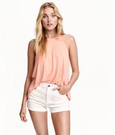 sleeveless jersey top   H&M US